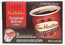 Tim Hortons Cafe & Bake Shop Original Blend Coffee Keurig K Cup Cups 12 ct