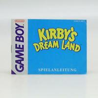 Kirby's Dream Land | Nintendo Game Boy | GameBoy Classic Anleitung / Manual