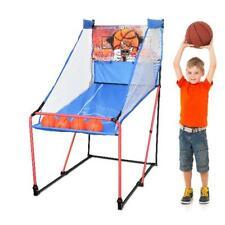 Portable Basketball Arcade Game w/Carry Bag, Led Scoreboard Foldable Junior Size
