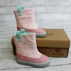 See Kai Run Baby Baby Girl Rain Boots 4