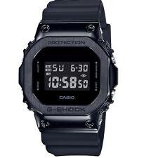 Casio G-shock Black PVD Stainless Steel Case Resin Strap Watch Gm5600b-1