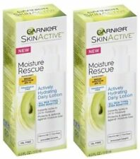 2 Pack - Garnier Skin Active - Moisture Rescue - Daily Lotion - Exp 8/17+