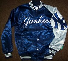 NEW YORK YANKEES MLB STARTER Jacket Sping/Summer BLUE/GRAY MEDIUM, LARGE