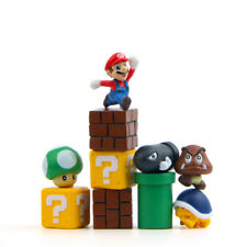 Super Mario 10 PCS Action Mini Figure Cake Topper Gift Toys Yoad Troopa Goomba