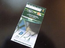 NY Jets vs Cleveland Browns 2002 Football Ticket Stub Giants Stadium NJ