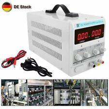 Neu Labornetzgerät Labornetzteil DC Trafo Regelbar Netzgerät 0-30V 0-10A 300W