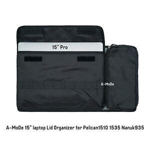 Lid Organizer fits Pelican 1535 case LID1519SC computer  (no case,no divieder)