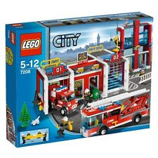 LEGO CITY STAZIONE DEI POMPIERI RARO NUOVO FUORI PRODUZIONE  ART 7208