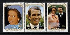 COOK ISLANDS PENRHYN QE II 1973 Complete Royal Wedding Set SG 53 to SG 55 MINT