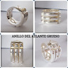 925 Sterling silver Atlantis Ring Anillo del Atlante SUPER ANILLO ATLANTE GRUESO