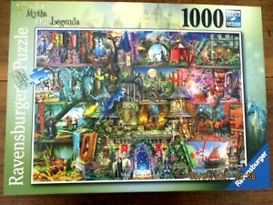 ~Ravensburger 1000 piece Jigsaw Puzzle - MYTHS AND LEGENDS - COMPLETE - VGC~