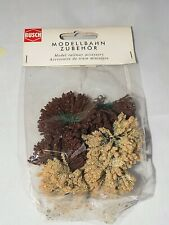 HO Scale Busch 6057 Brown/Light Brown Reeds & Bushes