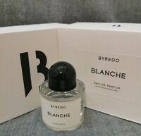 Byredo Blanche Eau De Parfum 100 ml 3.3 fl. oz. New in box