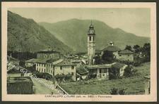 Piemonte. CANTALUPO LIGURE, Alessandria. Panorama. Cartolina d'epoca, circa 1930