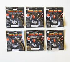 6 NEW SUPER CAP GUNS TOY PISTOL HANDGUN FIRES 8 SHOT RING CAPS KIDS REVOLVER