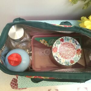 5 Pcs Pioneer Woman Lunch Tote