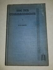 The Ten Commandments: R. H. Carroll (Hardcover, 1938)