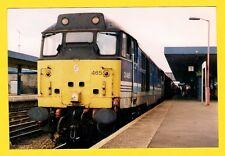 British Rail Photo ~ Regional Railways 31 465: Brush Type 2 Diesel - Oxford 1998