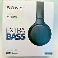 Sony WH-XB700 Wireless Extra Bass Over-Ear Headphones (Black)