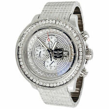 Breitling Super Avenger Chronograph 20 Ctw Diamond Men's Watch 48mm A13370