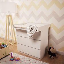 Polini Kids Wickelaufsatz Wickeltischaufsatz für IKEA MALM Kommode, 1353.9