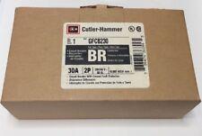 New Circuit Breaker Eaton Cutler Hammer GFCB230 30 Amp 2 Pole 120/240V GFCI