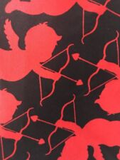 Lularoe Valentines Cupid OS LeggingsRed/Black
