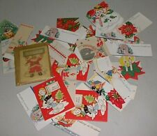 Vintage 68 Pieces O Fchristmas Sticklers -To & From Cards & More-Never Been Use