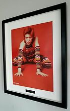 David Bowie-Framed Original NME-Metal Plaque-Certificate-NEW-RARE