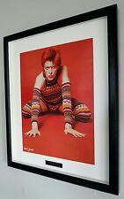 David Bowie-Framed Original NME-Metal Plaque-Certificate-NEW-RARE