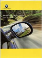 BMW Approved Used Cars 1999 UK Market Brochure 3 5 7 8 Series Z3