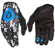 hommes 661 compatible Répétiteur MTB vélo BMX gants noir / Cyan XL XL 11