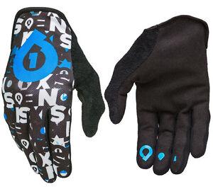 Herren 661 Überholt MTB Motocross MX Cycle Fahrrad Handschuhe Blau
