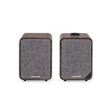 Ruark Audio Mr1 MKII Bluetooth Active Speakers Rich Walnut