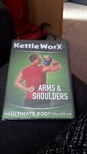 kettle worx arms and shoulders dvd new freepost