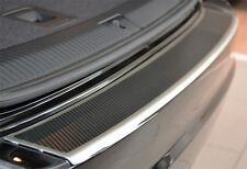 BMW X1 E84 ab 2013 AluNox Carbon Ladekantenschutz mit Abkantung Carbonschicht