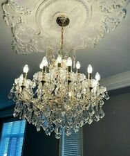 💡 Stunning Hollywood Regency Style Chandelier 💡2 Available 💡 18 lights 💡WOW!
