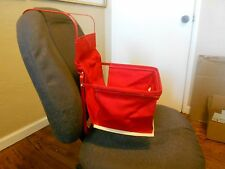 antique style red child car seat baby chair for vintage car auto truck rat rod