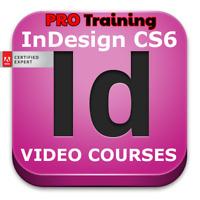 Video Courses InDesign CS6 - Training Video Lessons Professional Tutorials
