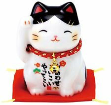 MANEKI NEKO Japanese Lucky Cat Figure Gift Kawaii Doll AM-Y 7434 from Japan*