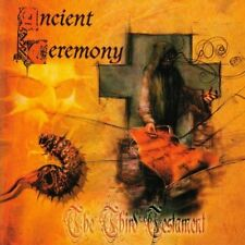 ANCIENT CEREMONY the third testament CD ( BLACK METAL MASTERPIECE)