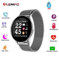 LEMFO Smart Watch Sports Bracelet Fitness Tracker With Heart Rate Blood Pressure