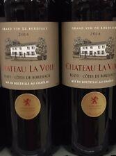 Lot revendeur destockage de 4 Bouteilles Côté De Bordeaux Château La Voie