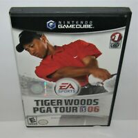 Tiger Woods PGA Tour 06 (Nintendo GameCube, 2005) Complete Tested and Working