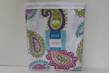 Peri Graphic Paisley Fabric Shower Curtain - Multi-Color - New