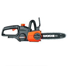 "WORX WG322.9 20V PowerShare 10"" CordlessChainsaw with Auto-Tension - Tool Only"