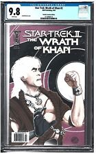 Star Trek: The Wrath of Khan #2 CGC 9.8 (6/09) IDW white pages