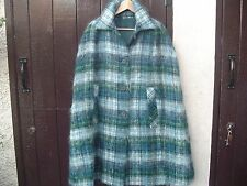 Vintage Mohair Cape Coat ,Glenrannoch,Scotland , Bourne & Hollingsworth,London