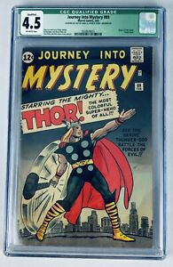 CGC Qualified 4.5 JOURNEY INTO MYSTERY #89 SUPER CLASSIC THOR 1963