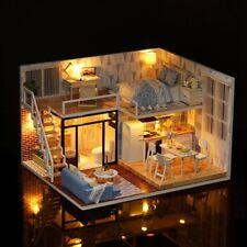 Doll House Furniture Dream Toy Mini DIY Cottage Kit Kid Girl Gift XMAS Birthday